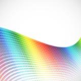 Abstract spectrum halftone background Stock Photos