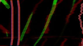 Abstract spectrum video stock video