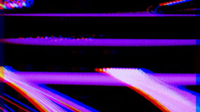 Abstract spectrum video. An abstract scientific radio signal made from a spectrum analyzer stock video