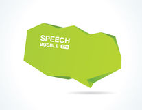 Abstract speech bubble Royalty Free Stock Image