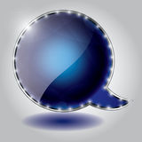 Abstract speech bubble  background Stock Photos