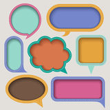 Abstract speech bubble design Royalty Free Stock Photo