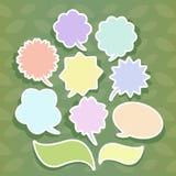Abstract speech bubble design Stock Photos
