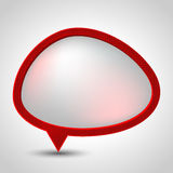 Abstract speech bubble vector background. Eps 10 Royalty Free Stock Image