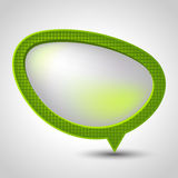 Abstract speech bubble vector background. Eps 10 Stock Photo