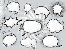 Abstract speech bubbles Royalty Free Stock Photography