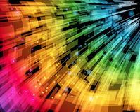 Abstract Speed Background Stock Image
