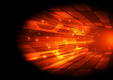 Abstract speed digital technology concept background, vector illustration Stock Photo