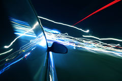 Abstract speed drive Stock Photos