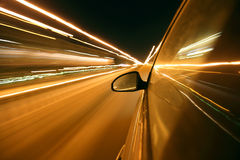 Abstract speed drive Stock Photo