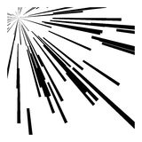 Abstract speed motion black lines Stock Photo