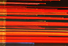 Abstract speedy drive trailing light Royalty Free Stock Photos
