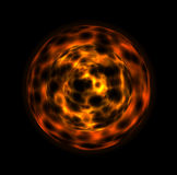 Abstract sphere. 3d illustration of a abstract sphere Stock Photography
