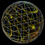 Abstract sphere Royalty Free Stock Photo
