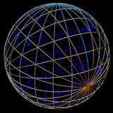Abstract sphere Stock Photos