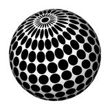 Abstract sphere. Royalty Free Stock Images