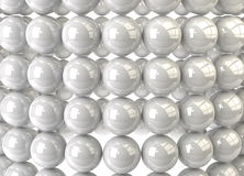 Abstract sphere background. 3d abstract background of spheres Stock Images