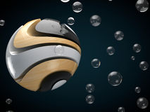 Abstract sphere background Royalty Free Stock Photos