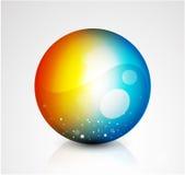 Abstract  sphere button Stock Photos