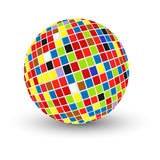 Abstract sphere design Royalty Free Stock Photography