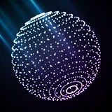 Abstract sphere light Royalty Free Stock Photography