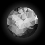 Abstract sphere polygonal Royalty Free Stock Image