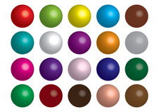Abstract spheres Stock Images