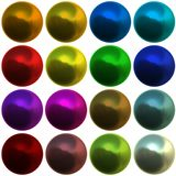 Abstract spheres Stock Image