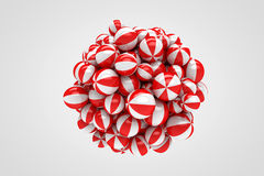 Abstract Spheres royalty free illustration