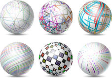 Abstract spheres Royalty Free Stock Images
