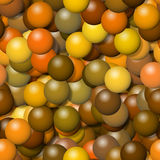 Abstract spheres background generated Stock Photo