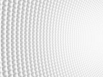 Abstract Spheric Geometric Curved White Background. Modern Futur Stock Image