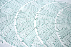 Abstract Spherical Graph Design Royalty Free Stock Photos