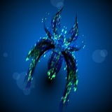 Abstract spider Royalty Free Stock Image