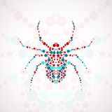 Abstract spider cartoon Royalty Free Stock Photography
