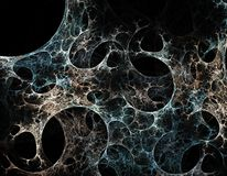 Abstract Spider Web stock illustration