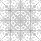 Abstract Spider Web Construction Structure Vector Royalty Free Stock Photo