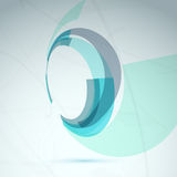 Abstract spin wheel element background Stock Photos