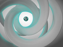 Abstract spiral Royalty Free Stock Photos