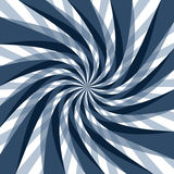 Abstract spiral background. An abstract blue spiral background. Digitally generated picture stock illustration