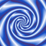 Abstract spiral background in blue and white Royalty Free Stock Photo