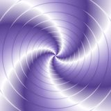 Abstract spiral background with circles in violet Royalty Free Stock Photography
