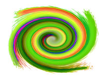Abstract spiral background Royalty Free Stock Images