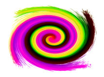 Abstract spiral background Stock Image