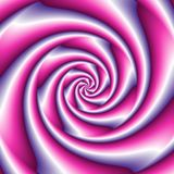 Abstract spiral background in pink and blue Royalty Free Stock Images