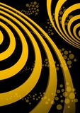 Abstract spiral background vector illustration Stock Images