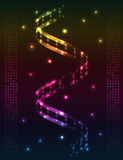 Abstract spiral - colored  background. Abstract spiral DNA colored  background. EPS10 Stock Image
