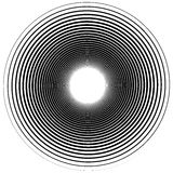 Abstract spiral element.  Twirl, swirl, whorl shape. Stock Image