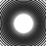 Abstract spiral element.  Twirl, swirl, whorl shape. Stock Images