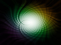 Abstract spiral, futuristic element Royalty Free Stock Images